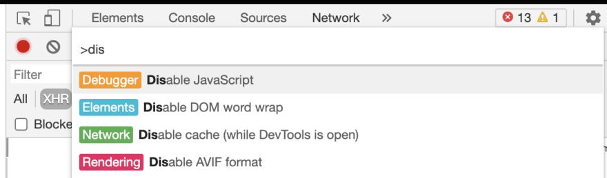 Google Chrome Debug Tool